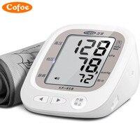 Cofoe Household Health Monitors Digital Portable Hypertension Oximeter Sphygmomanometer Blood Pressure Pulse Monitor Accurate