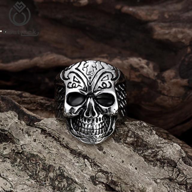 High Quality Cool Skull Ring