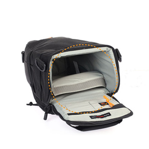 Image 2 - Lowepro do monitorowania Zoom 55 AW lustrzanka cyfrowa kamera trójkąt torba na ramię osłona przeciwdeszczowa przenośne talii na futerał dla Canon Nikon