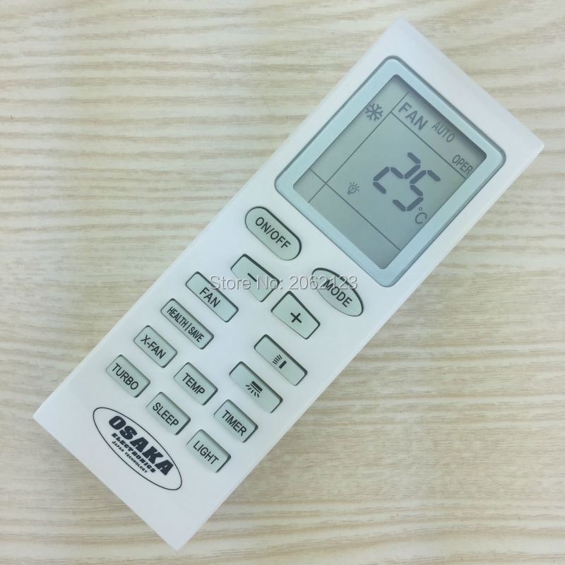 [Original] A/C Remote Control YB1F2 for OSAKA Air Conditioner Suit for  YB0FB YB0FB2 YBOF2 YB1F YB1FA