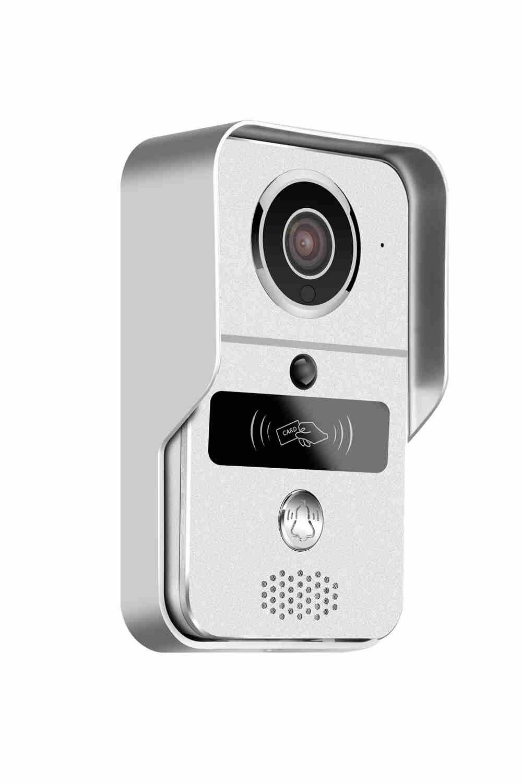 Wireless WIFI Doorbell Remote Control ID Card Access Control Video Door Phone