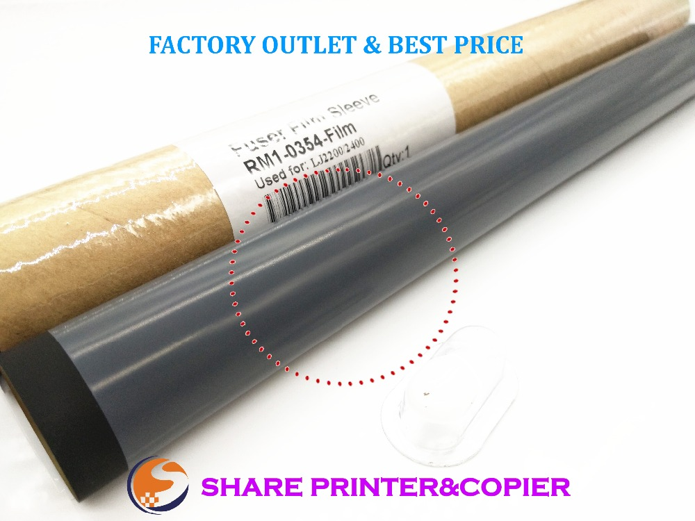 10X Original 2200 p3005 Fuser film sleeve Fixing Film Sleeve Teflon for <font><b>HP</b></font> 2200 2200D 2300 2400 2410 2420 2430 3005 P3005 <font><b>3035</b></font> image