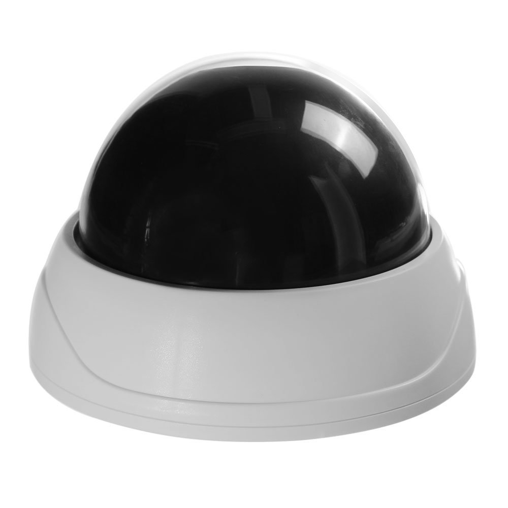 5 Packs Indoor CCTV Fake Dummy Dome Security Camera with IR LEDs White mool indoor cctv fake dummy dome security camera with ir leds white