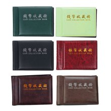 60 Slots Album for Coins Coin Album Money Penny Pocket Storage Collecting Book Coin