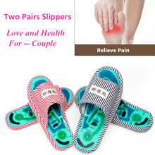Acupuncture Foot Massage Slippers Health Shoe Reflexology Magnetic Sandals Acupuncture Healthy Feet Care Massager Magnet Shoes foot massage slippers shoes health sandal massages reflexology feet healthy pebble stone massager shoes