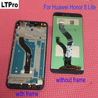 5 2Inch Black White Gold Blue LCD Display Touch Screen Digitizer Assembly For Huawei Honor 8