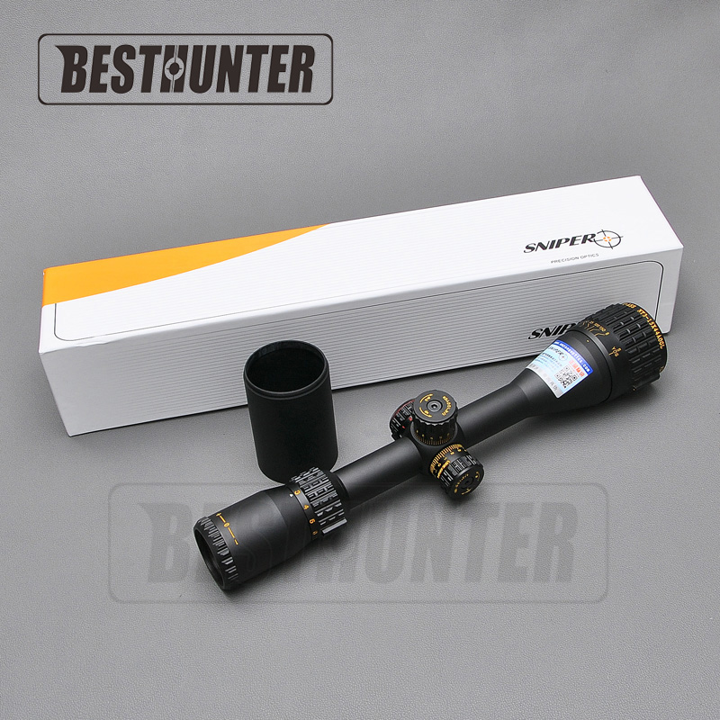 SNIPER NT 3-15X44 AOGL Tactical Riflescope Optical Sight Reticle RGB llluminate Full Size Glass Etched For Hunting Scopes sniper nt 3 5 10x40 aogl riflescope tactical rifle scope glass etched reticle hunting optics sight rgb illumination with rings
