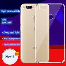 For Xiaomi Redmi case Note 5 6 7 Pro 6A Case Gradient Tempered Transparent soft shell  Mi 8 A1 9 Mi8 Mi6 Mi9 Phone