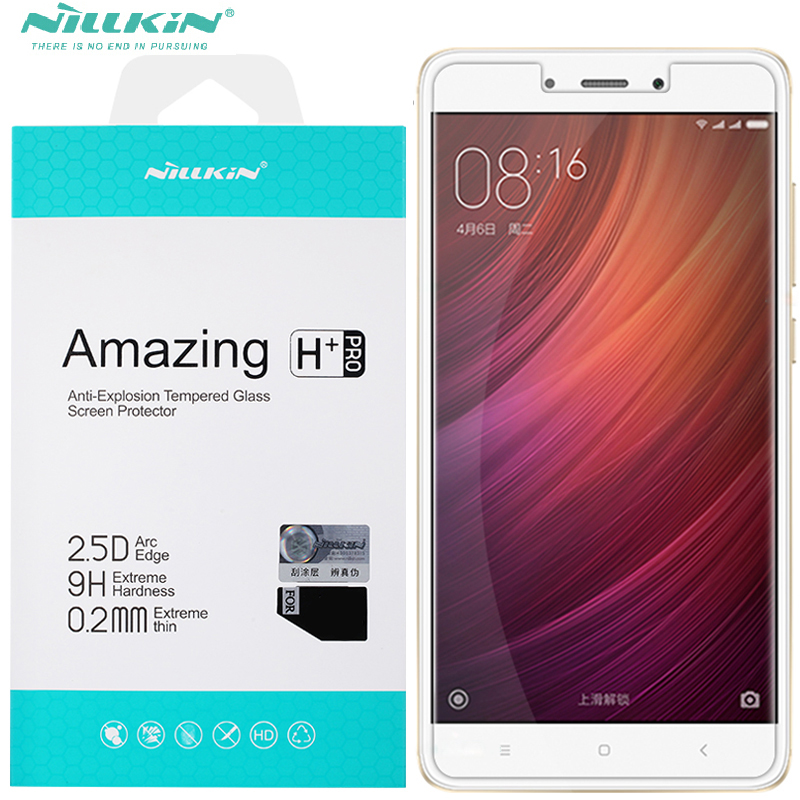 Nillkin H / H+ PRO Glass Film For Xiaomi Redmi note 4 Note 4x Tempered Glass Screen Protector For Redmi note4 Note4x
