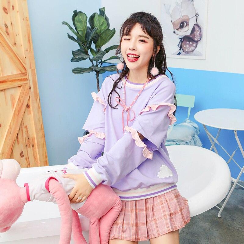 Venecia Azul Coño Súper Falda rosado Universidad Media Plisado Nuevo Princesa Dulce Brote Joven Lolita Otoño Japonés Vc91 wqZxICt