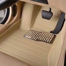 цена на auto floor mats car rug set leather for Ford Focus Mondeo Transit Custom Fiesta S-MAX Explorer maverick KUGA Escape caravan E150