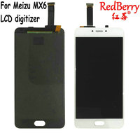 Redberry 100 Tested For 5 5 Meizu MX6 LCD Screen Display Touch Digitizer With Frame White