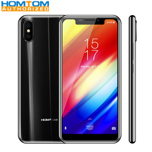 Homtom H10 4G Smartphone 5.85 Inch Android 8.1 MTK6750T Octa Core 4GB RAM 64GB ROM Fingerprint Recognition Type-C 3500mAh
