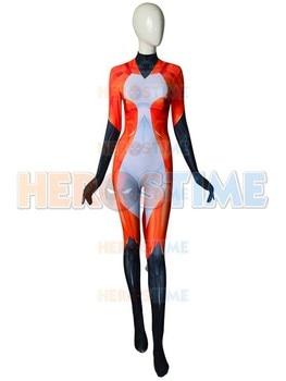 Rena Rouge Tales of Ladybug and Cat Noir Costume 3D Print Cosplay Spandex Zenati Bodysuit Halloween Suit Free Shipping