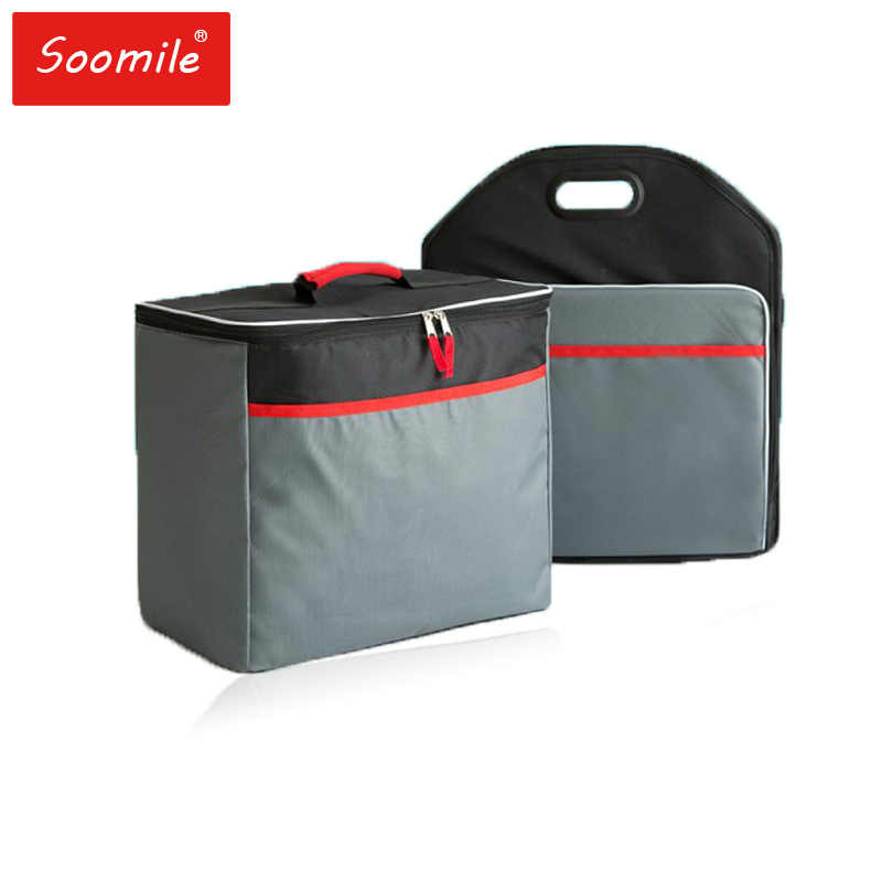 90L 25L 2018 Thermal Bag For Travel or Trip Picnic Large Capacity Genuine Car Lunch Cooler Bag Refrigerator Bolsa drop shipping