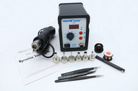 NEW 700W YOUYUE 858D ESD Hot Air Gun Soldering Station Welding Hot Air Gun BGA Rework