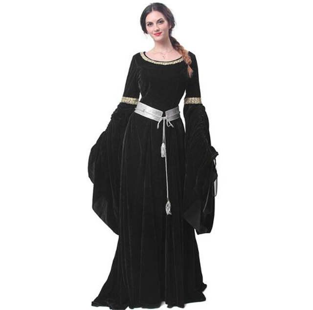 Women Red green Blue Medieval Renaissance Victorian Evening Dresses  Medieval Renaissance Costumes Ball Gowns Dresses A332