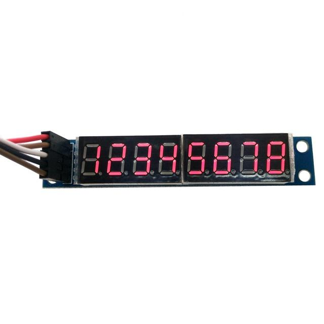MK00374  8 digit 7 segment digit LED display can cascade finished product MAX7219 module