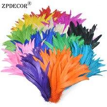 25-30 см 10-12 дюймов петушиные перья или куриное перо для DIY