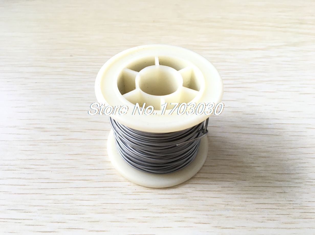 7.5Meter 1mm Diameter AWG18 1.388 Ohm/M Nichrome Resistor Wire for Kiln Furnace 1 1000w 4 ohm aluminum housed braking resistor wire wound resistor