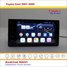 Car Android GPS Navigation System For Toyota Cami / Premier Rio J100 2001~2006 Radio Stereo Audio Video Multimedia No DVD Player