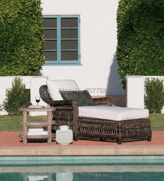 online kaufen gro handel outdoor korb sitzbank aus china. Black Bedroom Furniture Sets. Home Design Ideas