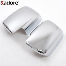 For Nissan X-Trail Rogue 2008 2009 2010 2011 2012 ABS Chrome Rearview Rear View Mirror Cover Trim Car Covers External Auto Parts
