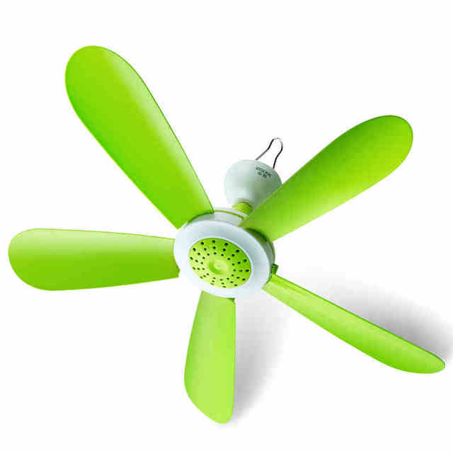 Water Powered Ceiling Fan : W power mini ceiling fan electric fans with rotary vane