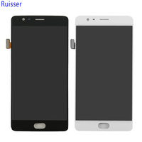 Ruisser For Oneplus 3T A3010 LCD Display With Frame Assembly 5 5 Inch 1920 1080 LCD