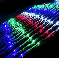 New Year! 220V LED Waterfall String Light ,Garden Christmas Lights Wedding Decoration Holiday Party
