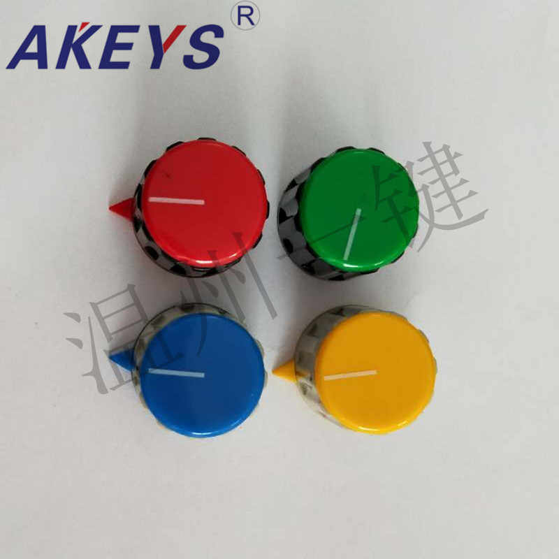 5 Pcs KN-21-Y-6.0 Potensiometer Bakelite Plastik Warna Tombol Encoder Band Switch Atas Kawat Tombol Topi