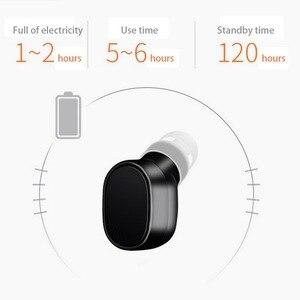 Image 4 - KEBIDU X12 Bluetooth casque mini sans fil écouteur Portable USB magnétique charge casque Sport oreillette casque pour iPhone 8X7