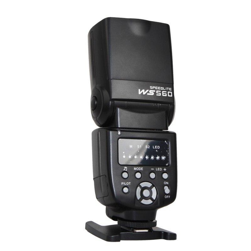 WS-560I universel Flash professionnel Flash lampe de poche pour Canon/Nikon Pentax caméra k5