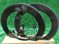 1Pair New 700C 88mm clincher rim Road bike 3K UD 12K full carbon bicycle wheelset aero spokes 20.5/ 23/ 25mm width Free shipping