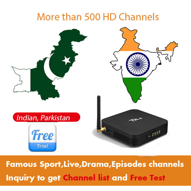 US $28 31 |1 year iptv with box Indian Iptv Parkistan and Hindi iptv Arabic  Portugal Spain France stable 4K Iptv M3u Vod For Smart Tv box-in Set-top