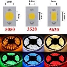 LED Strip Light DC12V 5M 300 Leds SMD3528 5050 5630 DiodeTape Single