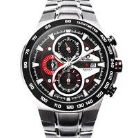 CASIMA Brand Fashion Watches Men Casual Charm Luminous Sport Multi Function Quartz Stopwatch Waterproof 100m 8209