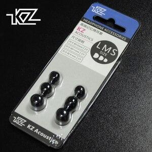 Image 1 - KZ oryginalne końcówki słuchawek dousznych z pianki memory 3 pary (6 sztuk) izolacja hałasu wygodne wkładki do uszu douszne słuchawki douszne do słuchawek KZ ZSX ZS10 Pro