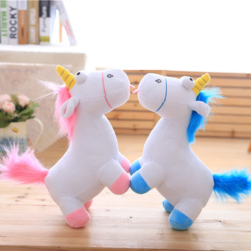 35cm Kawaii Plush unicorn Toys for Children stuffed animals rainbow horse Plush Unicornio despicable Me Soft Toys for Kids Gift kawaii fresh horse plush stuffed animal cartoon kids toys for girls children baby birthday christmas gift unicorn pendant dolls