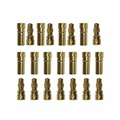 100 pairs 3.5mm Gold Bullet Connector plug for RC battery high quality