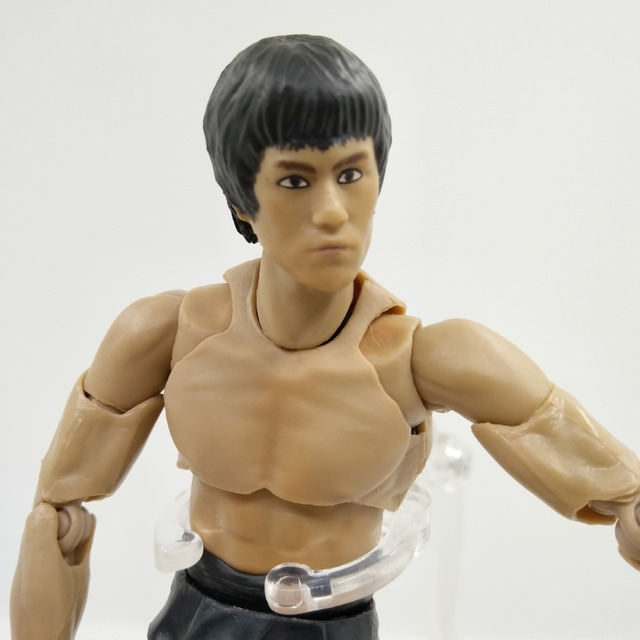 New Joint Bruce Lee Japanese Action Figures PVC Collection Model toys for christmas gift free shipping
