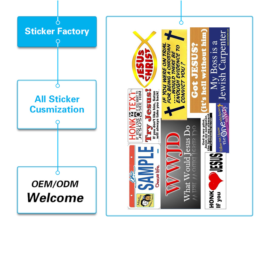 Custom Car Bumper Stickers PromotionShop For Promotional Custom - Custom car bumper stickers
