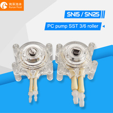 Transparent Peristaltic Pump Head for NEMA 23 Stepper Motor стоимость