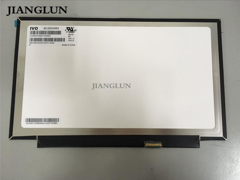 JIANGLUN For lenovo YOGA260 M125NWR3 12.5 LCD Screen 1366*768 jianglun for lenovo yoga s1 x240