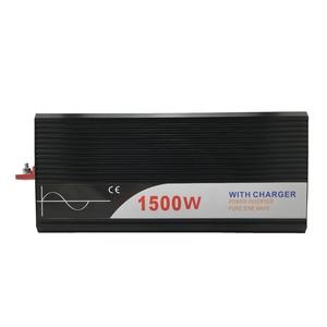 Image 3 - ups inverter 1500W pure sine wave inverter with charger 12V 24V 48v DC to AC 220V 230V 240v solar power inverter