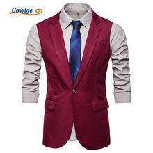 Covrlge мужской костюм жилет colete masculino в английском стиле