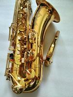 Selme 802 тенор саксофоны бемоль золотой лак джазовые инструменты тенор Sax латунь с мундштук случае Прихватки для мангала, трости