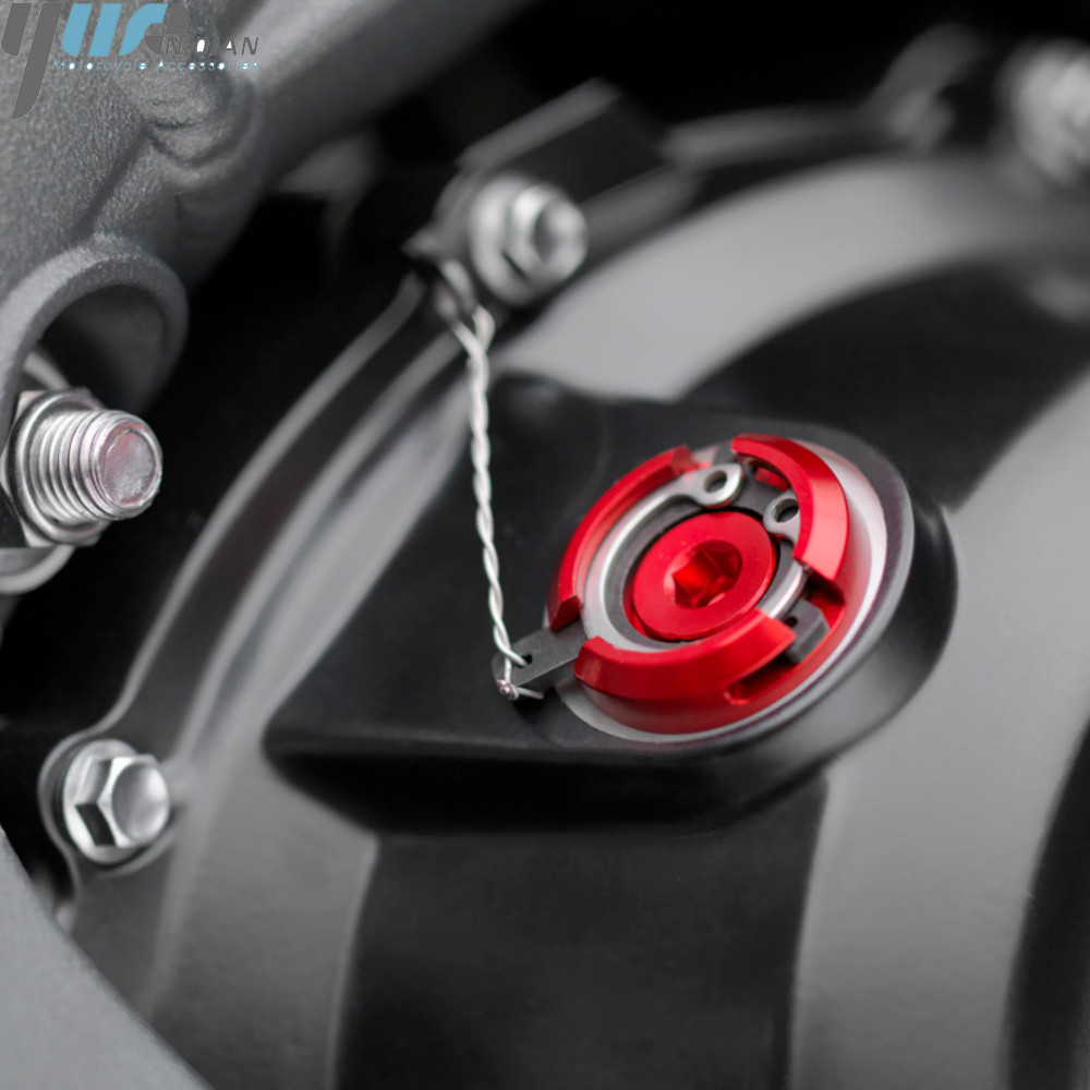 Image 4 - M20*2.5 Motorcycle Reservoir Engine Oil Filter Cover Cap For HONDA CB1000R 08 16 ST1300/ST1300A 2003 07 CBR125R 2005 SPORT 1000-in Covers & Ornamental Mouldings from Automobiles & Motorcycles