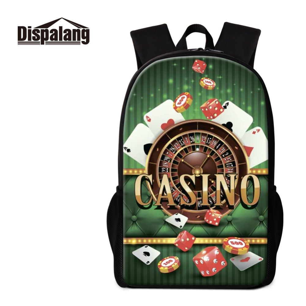 Dispalang Hot Sale Laptop Backpack For Men Schoolbag For College Student Boys Daypack With Custom Fire Balls Picture Double Zip Attractive And Durable Backpacks