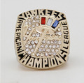 Wholesale  2003 New York Yankees Major League Baseball Zinc Alloy 24K gold plated Custom Sports Replica Fans Championship Ring